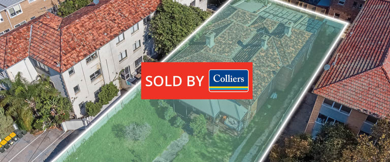 Development / Land commercial property sold at 55 Southey Street Elwood VIC 3184