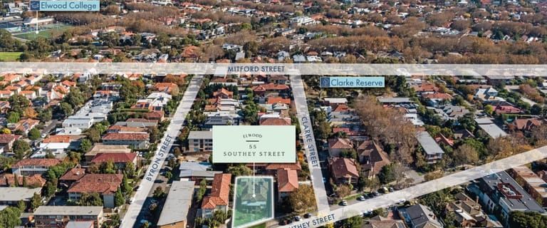 Development / Land commercial property for sale at 55 Southey Street Elwood VIC 3184