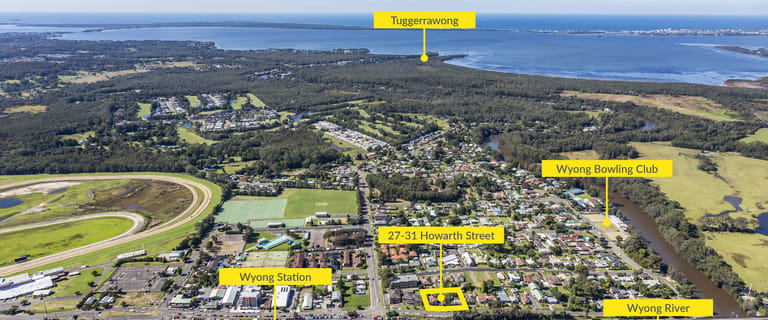Development / Land commercial property sold at 27-31 Howarth Street Wyong NSW 2259
