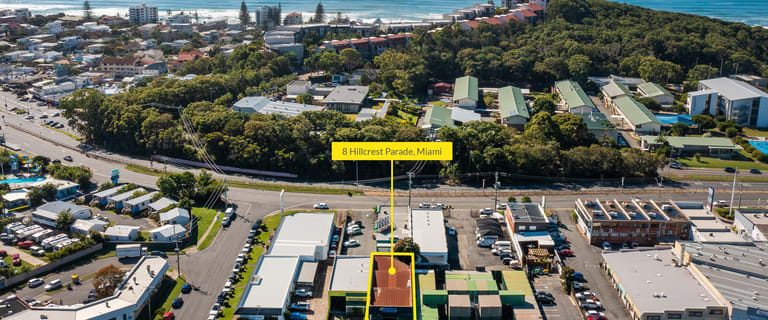 Development / Land commercial property for sale at 8 Hillcrest Parade Miami QLD 4220