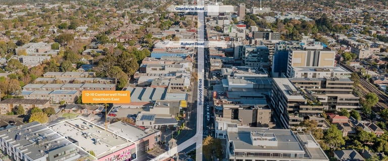 Development / Land commercial property for lease at Ground Floor/12-16 Camberwell Road Hawthorn East VIC 3123