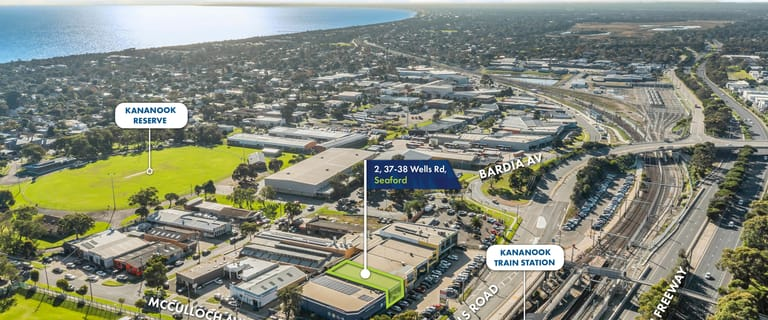 Factory, Warehouse & Industrial commercial property for sale at 2/37-38 Wells Road Seaford VIC 3198