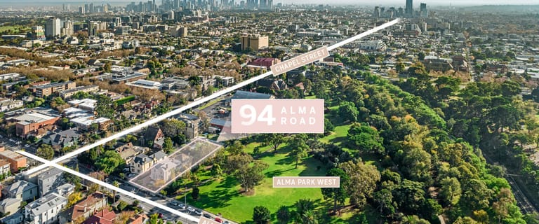 Development / Land commercial property for sale at 94 Alma Road St Kilda East VIC 3183