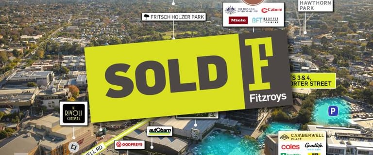 Offices commercial property sold at Lots 3 and 4/1 Porter Street Camberwell VIC 3124