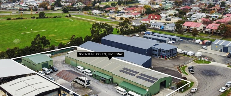 Factory, Warehouse & Industrial commercial property sold at 3 Venture Court Invermay TAS 7248