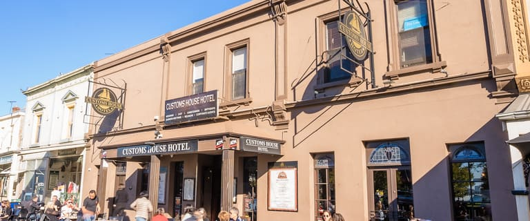 Hotel, Motel, Pub & Leisure commercial property for sale at Customs House Hotel/159-163 Nelson Place Williamstown VIC 3016