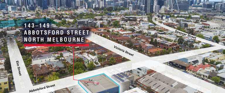 Development / Land commercial property for sale at 143-149 Abbotsford Street North Melbourne VIC 3051