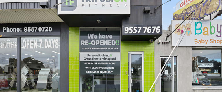 Showrooms / Bulky Goods commercial property for sale at 837 Nepean Highway Bentleigh VIC 3204