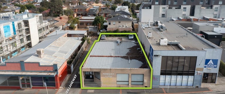 Development / Land commercial property sold at 329 Jasper Road Ormond VIC 3204