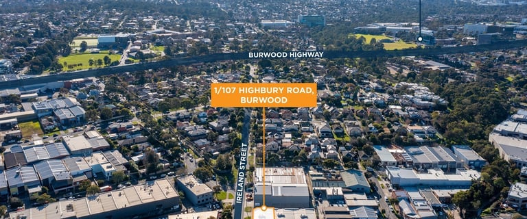 Offices commercial property for sale at 1/107 Highbury Road Burwood VIC 3125