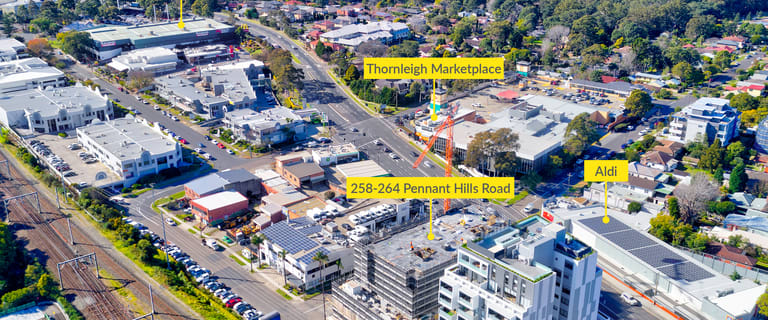 Shop & Retail commercial property for sale at 258-264 Pennant Hills Road Thornleigh NSW 2120