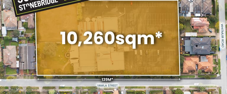 Development / Land commercial property sold at 33 Yawla Street & 32-46 Huntley Road Bentleigh VIC 3204