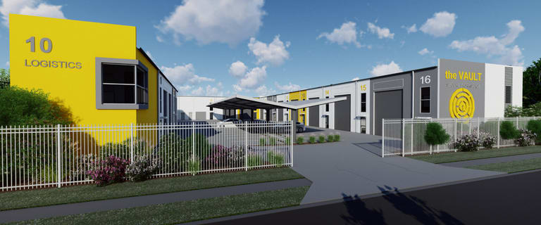 Factory, Warehouse & Industrial commercial property for sale at The Vault 10 Logistics Place Arundel QLD 4214