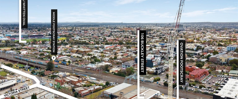 Showrooms / Bulky Goods commercial property for sale at 106 Buckley Street Footscray VIC 3011