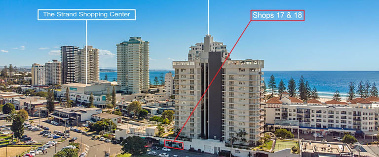 Shop & Retail commercial property for sale at 17 & 18/118-122 Griffith Street Coolangatta QLD 4225