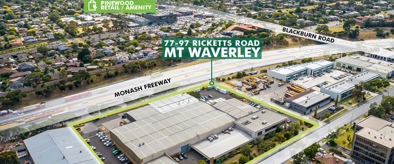 Factory, Warehouse & Industrial commercial property for sale at 77-97 Ricketts Road Mount Waverley VIC 3149