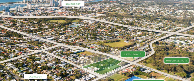 Development / Land commercial property sold at 97-105 Musgrave Avenue & 28-30 Jimmieson Avenue Labrador QLD 4215