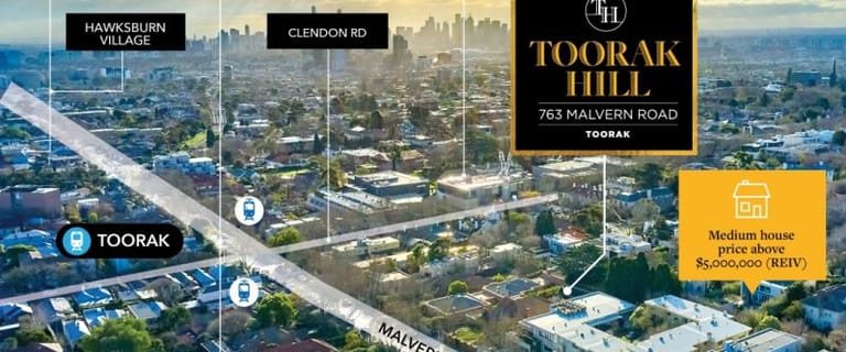 Development / Land commercial property for sale at 763 Malvern Road Toorak VIC 3142