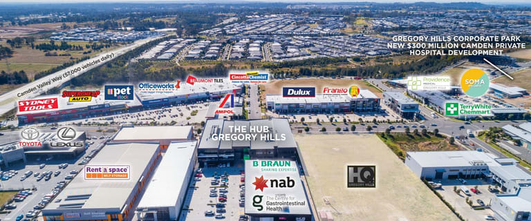 Medical / Consulting commercial property sold at Unit 2/31 Lasso Road Gregory Hills NSW 2557