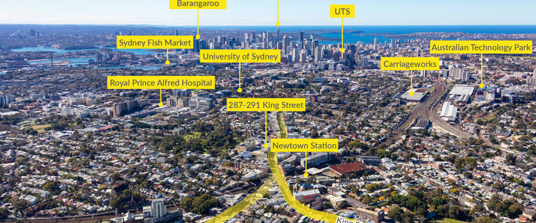 Offices commercial property for sale at 287-291 King Street Newtown NSW 2042