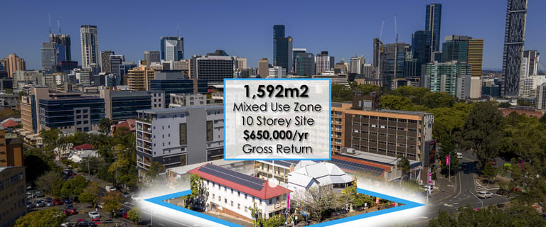 Development / Land commercial property for sale at 17 & 27 Gregory Terrace Spring Hill QLD 4000
