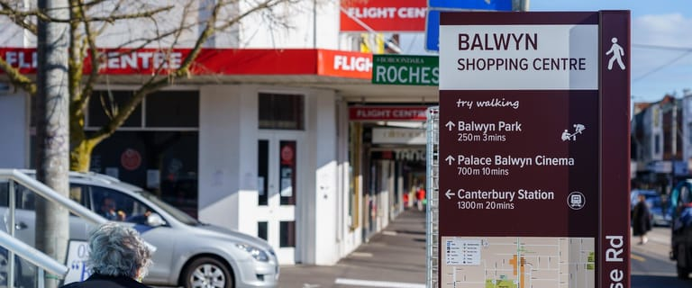Shop & Retail commercial property for sale at 383 Whitehorse Road Balwyn VIC 3103