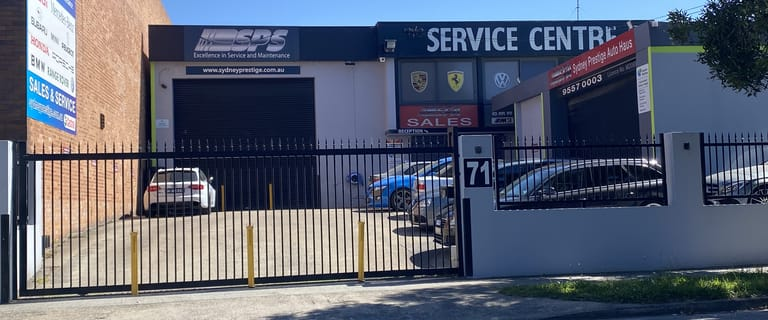 Factory, Warehouse & Industrial commercial property for sale at 71 Burrows Rd Alexandria NSW 2015