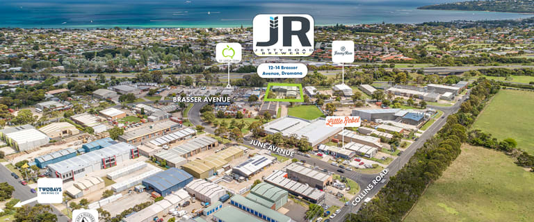 Factory, Warehouse & Industrial commercial property for sale at 12-14 Brasser Avenue Dromana VIC 3936