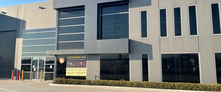 Factory, Warehouse & Industrial commercial property for sale at 6 Auto Way Pakenham VIC 3810