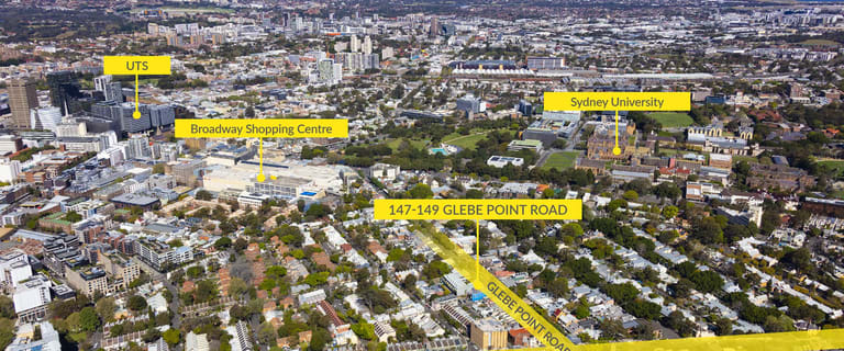 Development / Land commercial property for sale at 147-149 Glebe Point Road Glebe NSW 2037