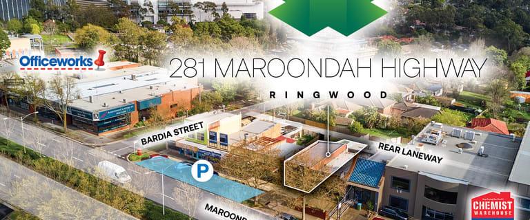 Development / Land commercial property for sale at 281 Maroondah Highway Ringwood VIC 3134