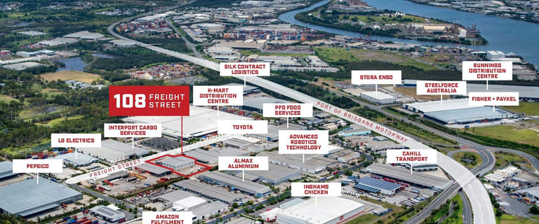Factory, Warehouse & Industrial commercial property for sale at 108 Freight Street Lytton QLD 4178