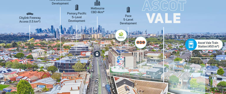 Shop & Retail commercial property for sale at 363-383 Mount Alexander Road Ascot Vale VIC 3032
