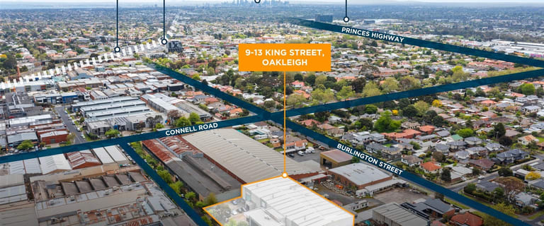 Factory, Warehouse & Industrial commercial property for sale at 9-13 King  Street Oakleigh VIC 3166