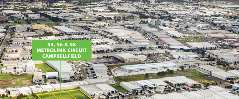 Development / Land commercial property for sale at 54-58 Metrolink Circuit Campbellfield VIC 3061