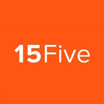 The official logo of 15Five.com