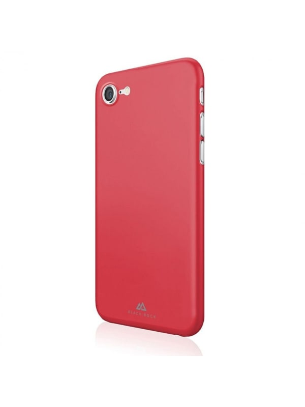 Black Rock Ultra Thin Iced Cover voor Apple iPhone 7 - Rood