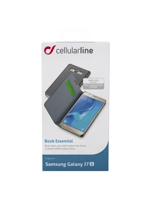 Cellularline BOOKESSGALJ716K Folioblad Zwart mobiele telefoon behuizingen