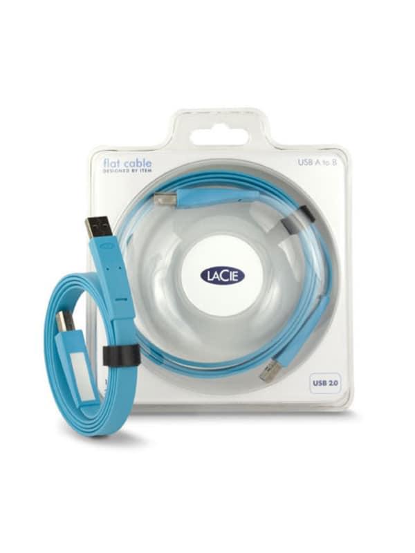 LaCie Flat Cables USB A naar USB B