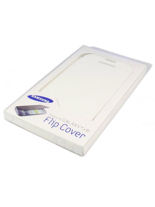 Samsung flip cover - wit - voor Samsung I9300 Galaxy SIII