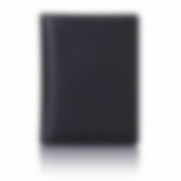 Black Saffiano leather travel card holder