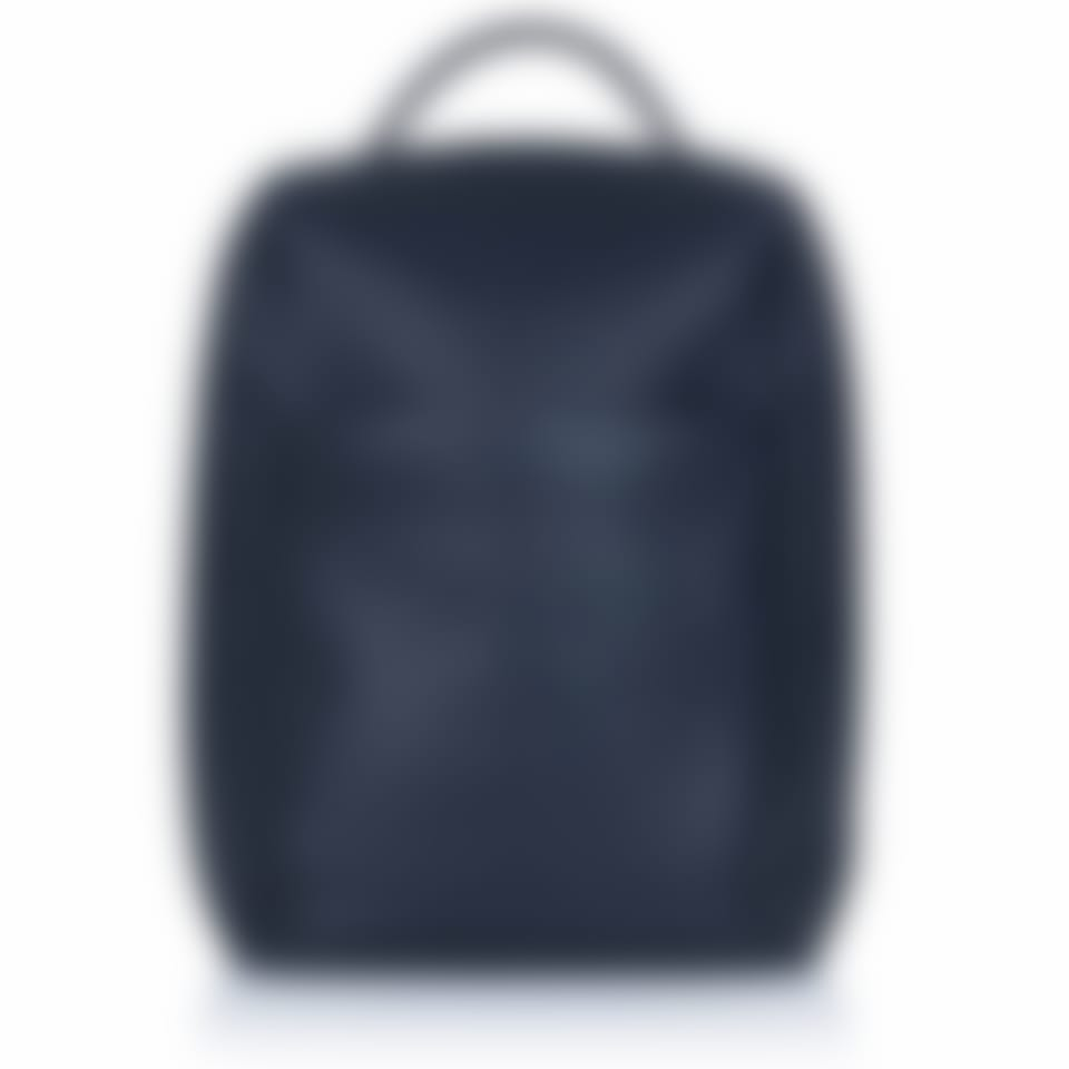 Richmond leather laptop backpack