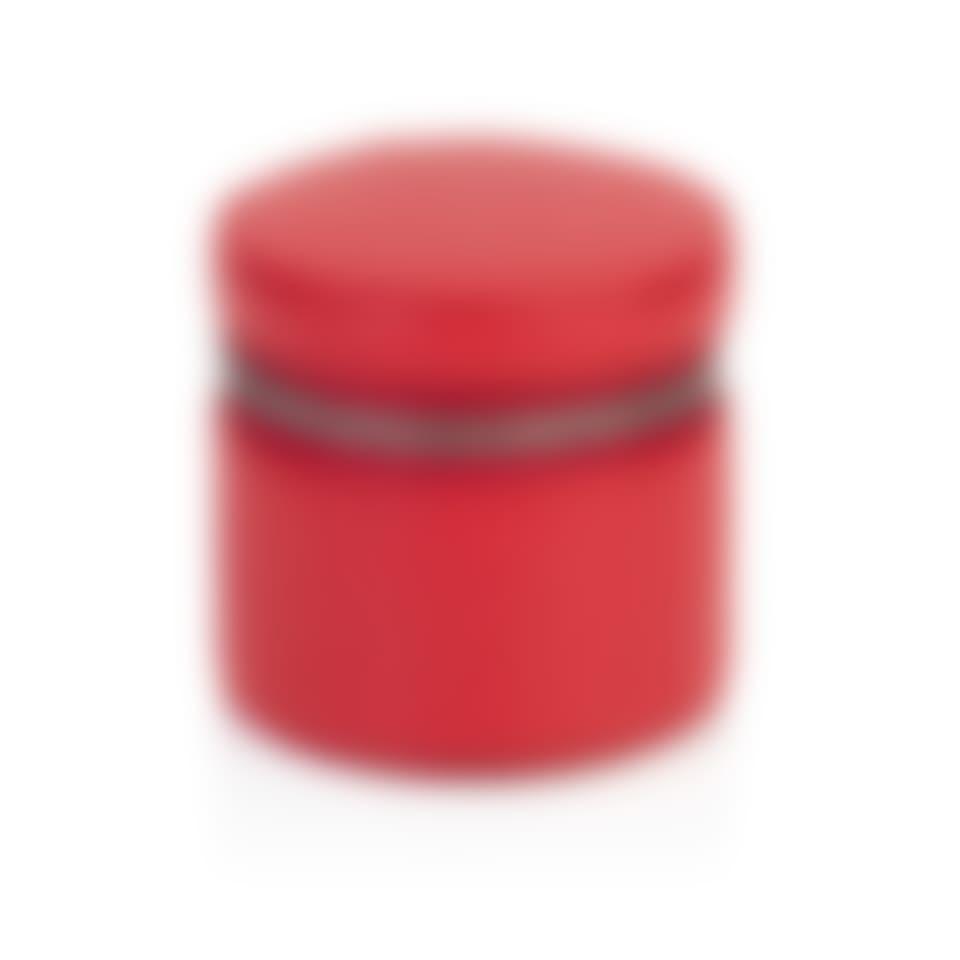 Richmond Leather Round Trinket Box