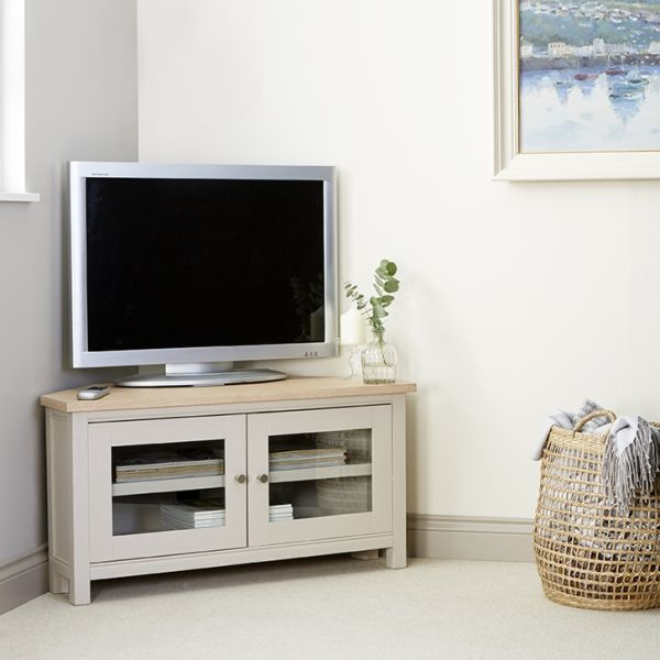 Rushbury Painted Corner TV Unit