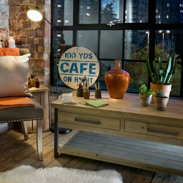Hulstone Industrial Coffee Table