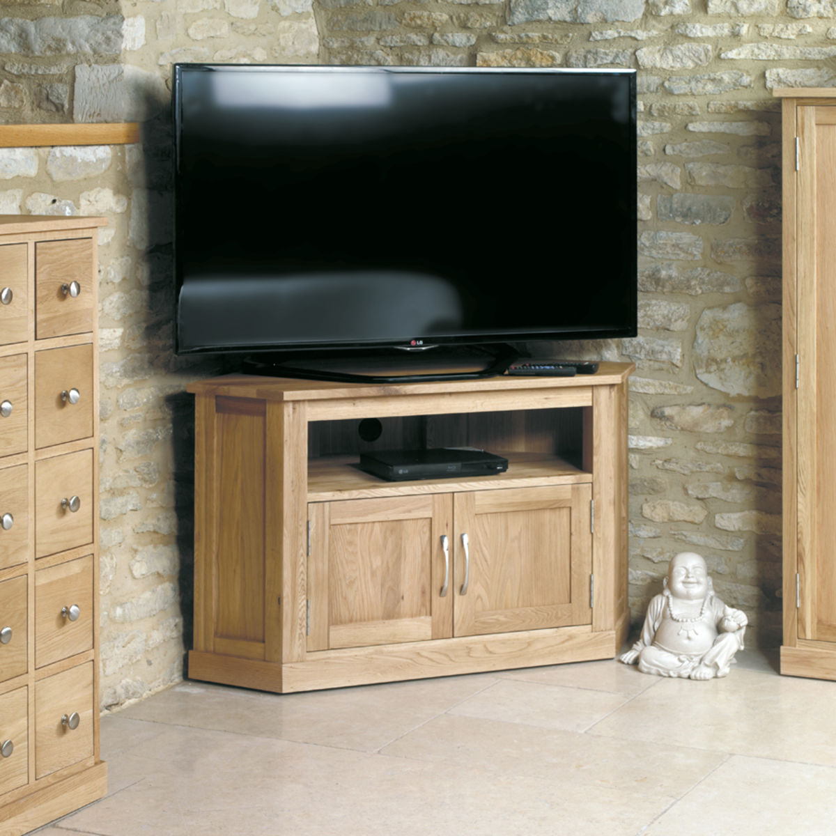 Mobel Oak Corner Television Cabinet Was 163 410 00 Now 163 359