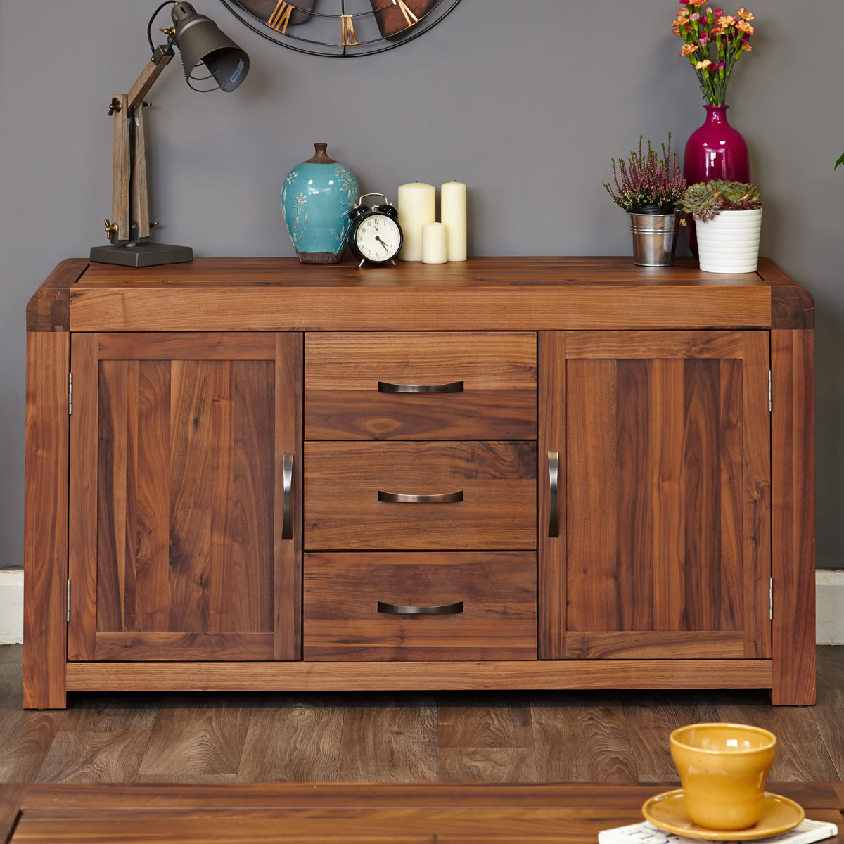 shiro walnut large sideboard was 780 00 now 679 00 wooden furniture store