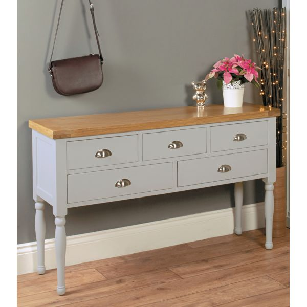 Chadwick Console Table With Shelves