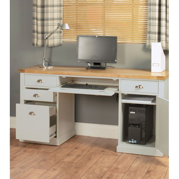Chadwick Twin Pedestal Desk