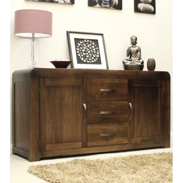 Shiro Walnut Large Sideboard